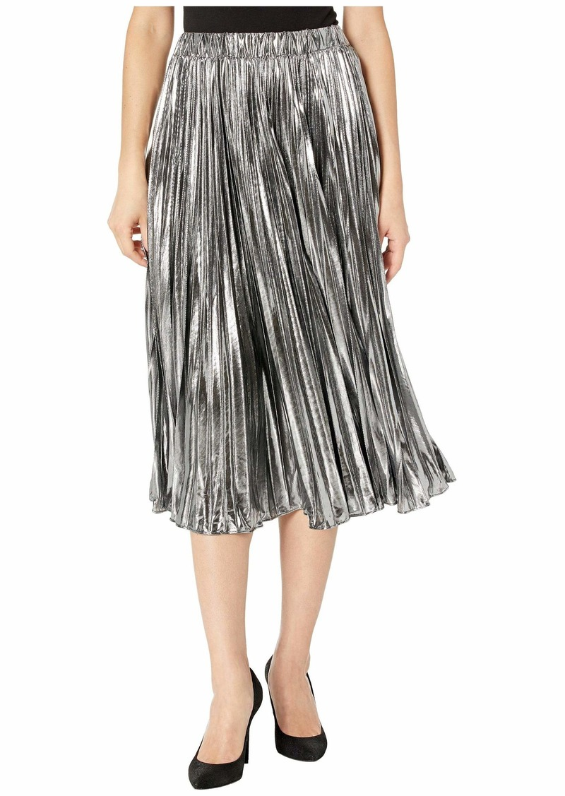 MICHAEL Michael Kors Foil Pleated Skirt