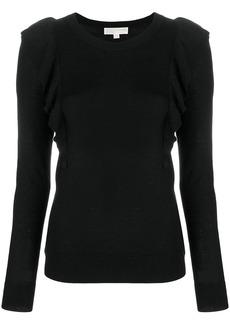 MICHAEL Michael Kors frill detail sweater