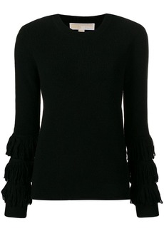 MICHAEL Michael Kors fringed sleeve jumper