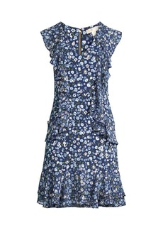 MICHAEL Michael Kors Garden Patch Cascade Dress