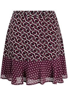 MICHAEL Michael Kors geo print mini skirt