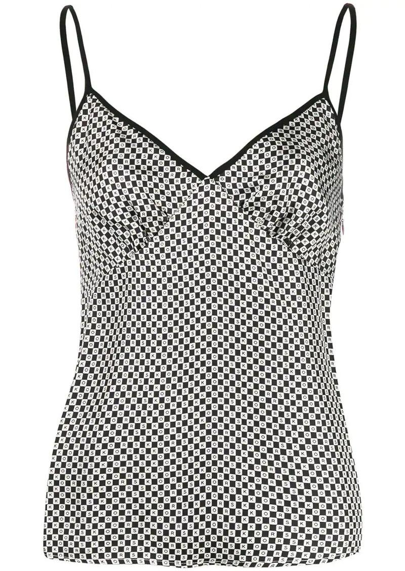 MICHAEL Michael Kors geometric print camisole top
