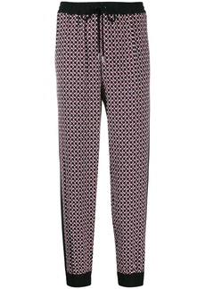 MICHAEL Michael Kors geometric print track pants