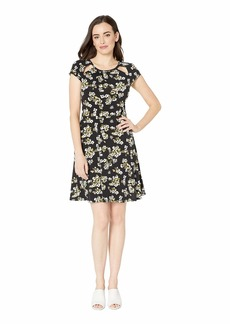 MICHAEL Michael Kors Glam Painterly Cut Out Dress