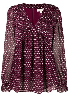 MICHAEL Michael Kors graphic diamond top
