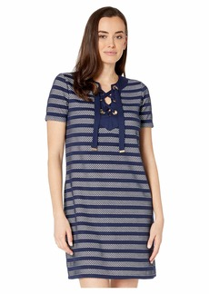 MICHAEL Michael Kors Grommet Lace-Up Dress