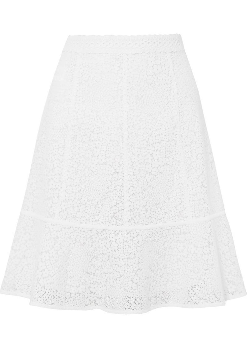 MICHAEL Michael Kors Guipure Lace Mini Skirt