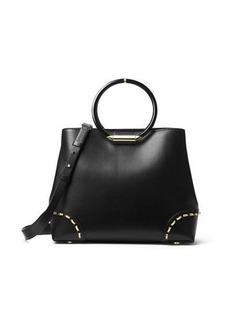 MICHAEL Michael Kors Herron Medium Leather East-West Tote Bag