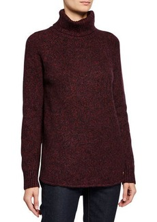 MICHAEL Michael Kors High-and-Low Hem Turtleneck Sweater