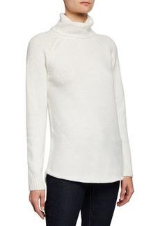 MICHAEL Michael Kors High-and-Low Hem Turtleneck Sweater