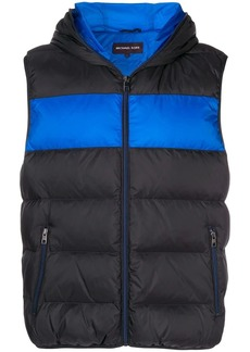 Michael Kors hooded padded gilet