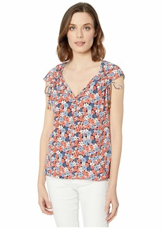 MICHAEL Michael Kors Hothouse Tie Top