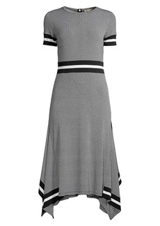 MICHAEL Michael Kors Houndstooth T-Shirt Dress