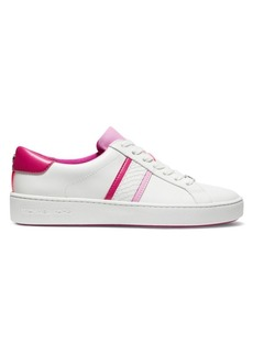 MICHAEL Michael Kors Irving Stripe Leather Sneakers