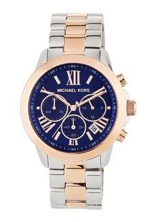 MICHAEL Michael Kors Jet Set 40mm Two-Tone Chronograph Bracelet Watch