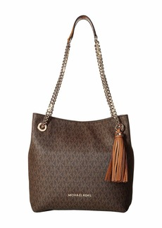 MICHAEL Michael Kors Jet Set Chain Signature Medium Shoulder Tote