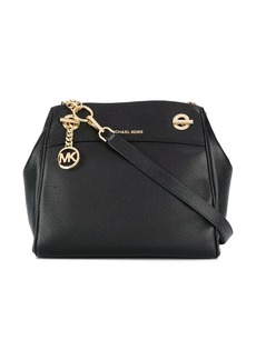 MICHAEL Michael Kors Jet Set logo plaque shoulder bag