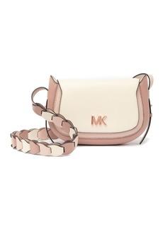 MICHAEL Michael Kors Jolene Leather Saddle Bag
