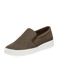MICHAEL Michael Kors Keaton Logo-Print Slip-On Sneakers