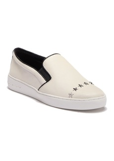 MICHAEL Michael Kors Keaton Slip-On Leather Sneaker
