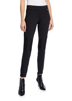 MICHAEL Michael Kors Knee Patch Seemed Leggings