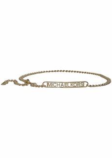 MICHAEL Michael Kors Kors Chain Belt