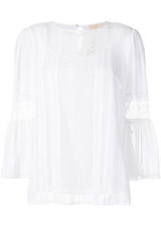 MICHAEL Michael Kors lace panels blouse