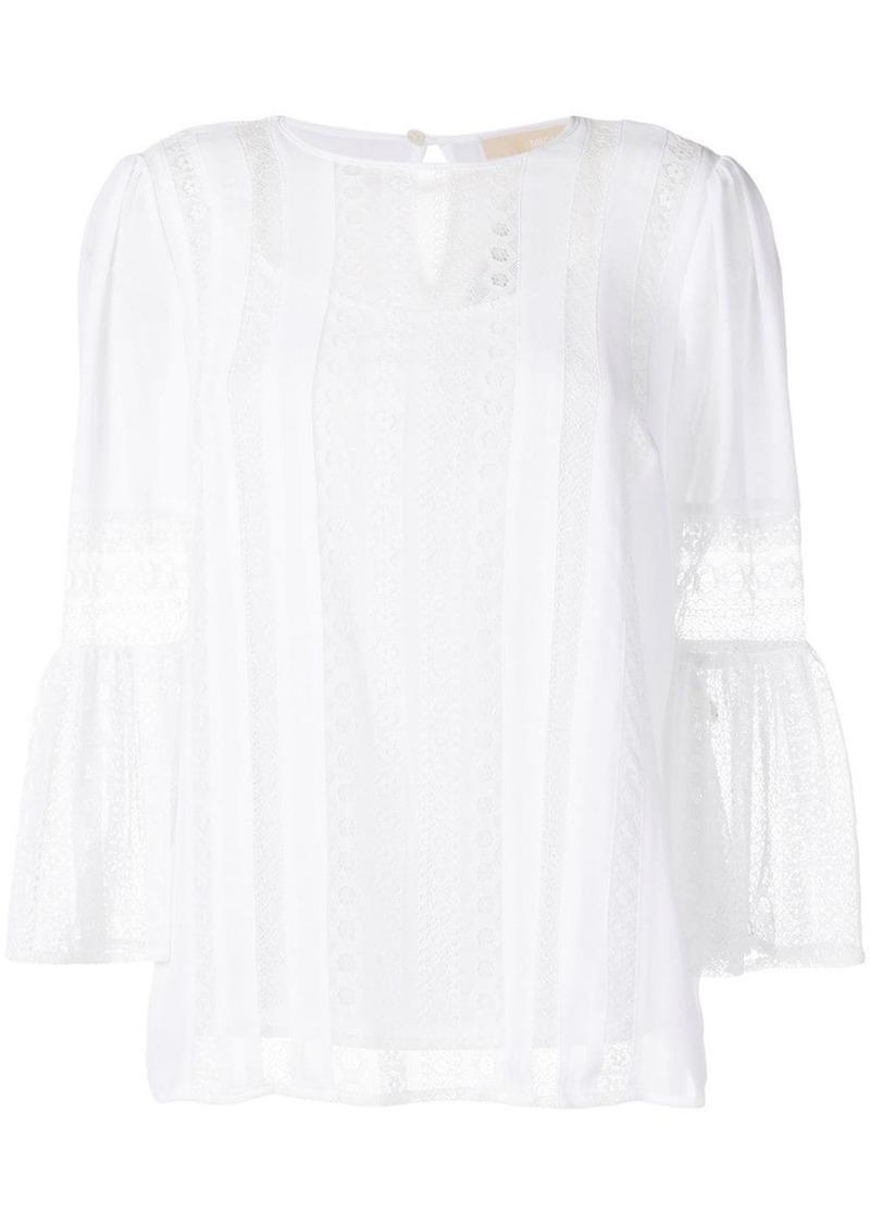 MICHAEL Michael Kors lace panels blouse