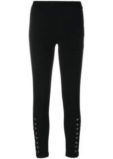 MICHAEL Michael Kors lace up skinny trousers