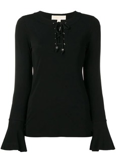 MICHAEL Michael Kors lace-up sweatshirt