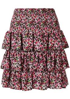 MICHAEL Michael Kors layered mini skirt