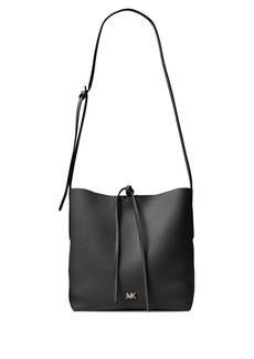 MICHAEL Michael Kors Large Junie Pebbled Leather Messenger Bag