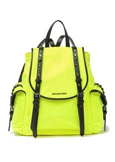 MICHAEL Michael Kors Leila Small Nylon Flap Backpack