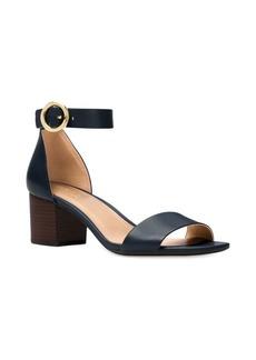 MICHAEL Michael Kors Lena Flex Mid Leather Ankle Strap Sandals