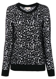 MICHAEL Michael Kors leopard knit jumper