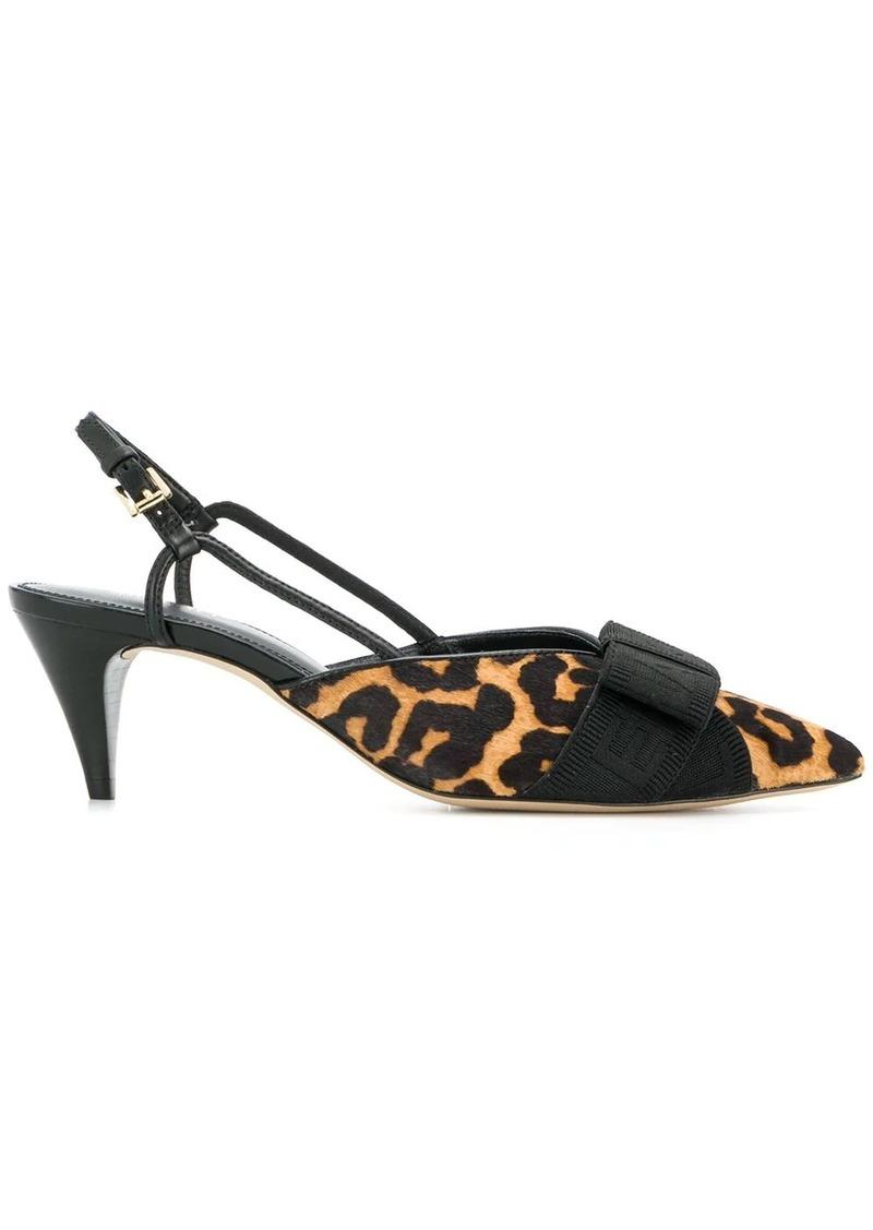 MICHAEL Michael Kors leopard print bow sandals