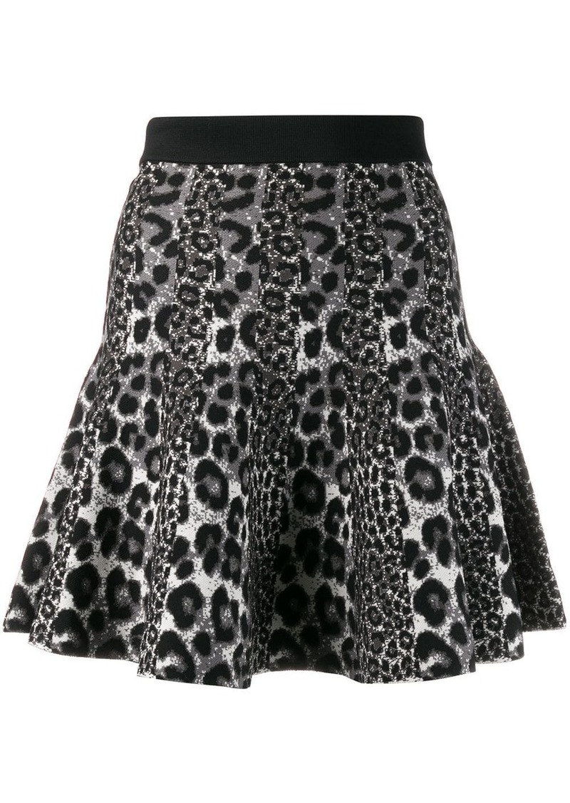 MICHAEL Michael Kors leopard print mini skirt