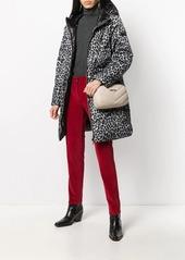 MICHAEL Michael Kors leopard print puffer jacket