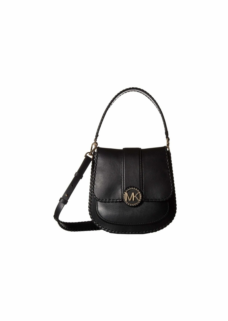 aef298ded54509 MICHAEL Michael Kors Lillie Medium Flap Messenger Now $279.99