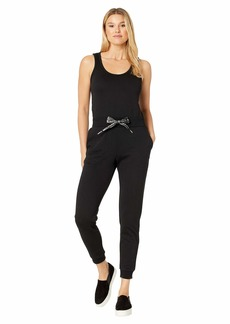 MICHAEL Michael Kors Logo Cord Sleeveless Jumpsuit