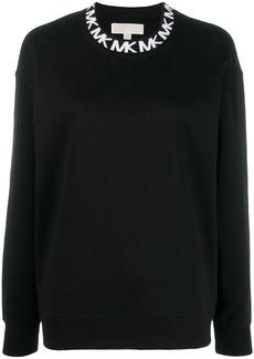 MICHAEL Michael Kors logo embroidered sweatshirt
