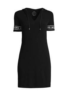 MICHAEL Michael Kors Logo Hoodie Dress