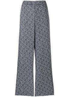 MICHAEL Michael Kors logo palazzo trousers