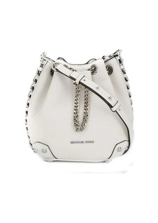 MICHAEL Michael Kors logo plaque bucket bag