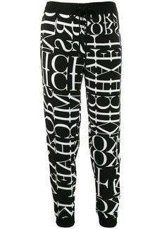 MICHAEL Michael Kors logo print track pants
