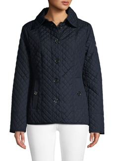 MICHAEL Michael Kors Logo Quilted Jacket