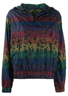 MICHAEL Michael Kors logo rain jacket