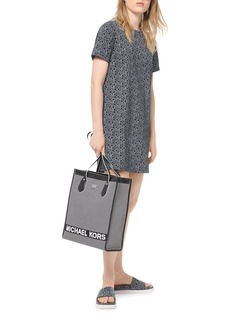 MICHAEL Michael Kors Logo Short-Sleeve T-Shirt Dress