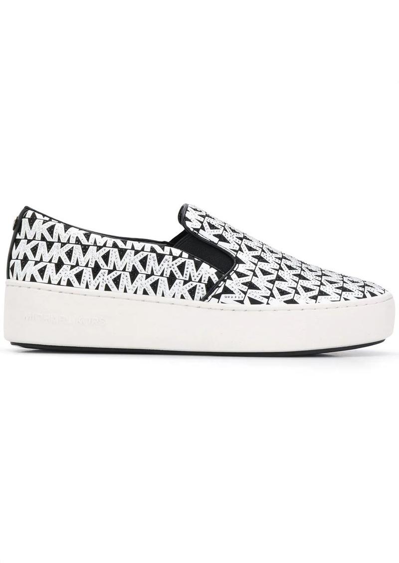 MICHAEL Michael Kors logo slip-on sneakers