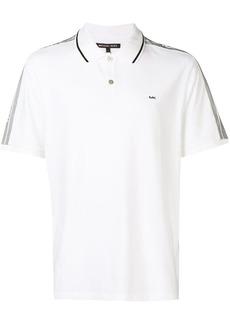 MICHAEL Michael Kors logo stripe polo shirt